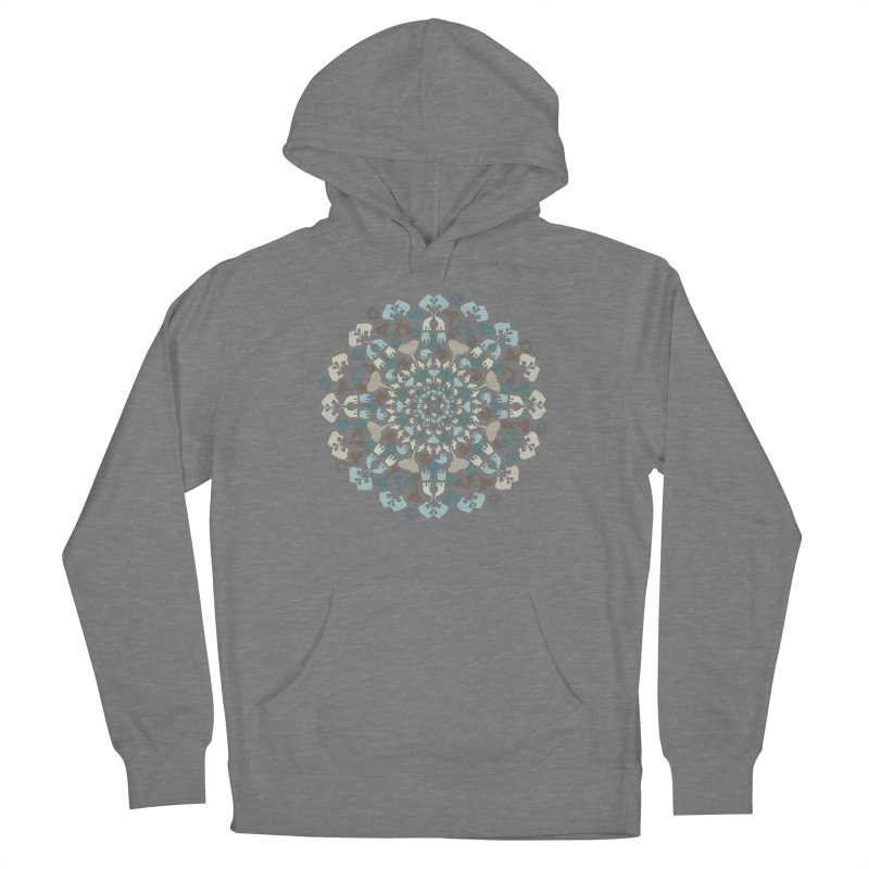 Mandala of Elephants 01. Women's Pullover Hoody by BrocoliArtprint