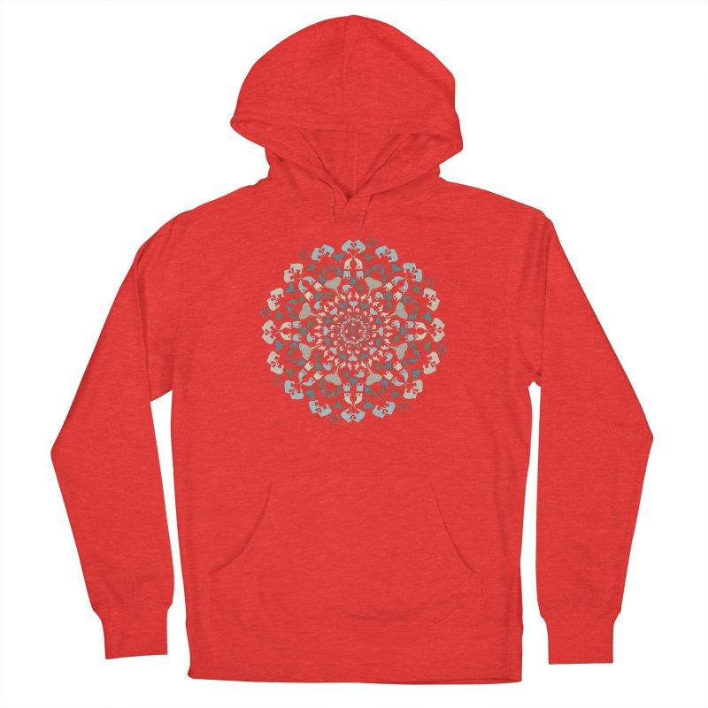 Mandala of Elephants 01. Men's Pullover Hoody by BrocoliArtprint