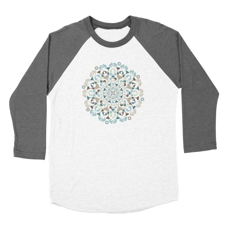 Mandala of Elephants 01. Women's Longsleeve T-Shirt by BrocoliArtprint