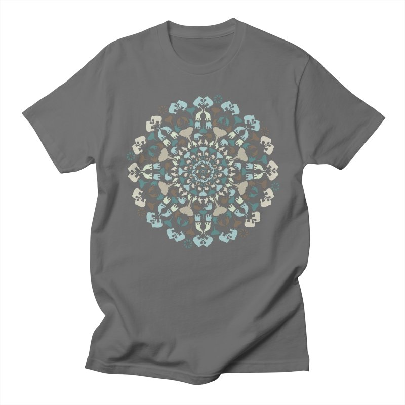 Mandala of Elephants 01. Women's T-Shirt by BrocoliArtprint