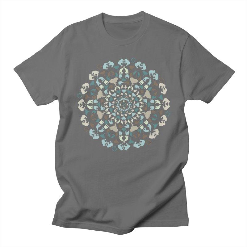 Mandala of Elephants 01. Women's T-Shirt by BrocoliArtprint