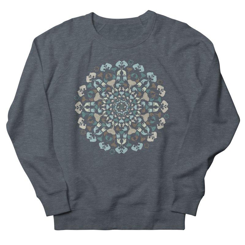 Mandala of Elephants 01. Men's Sweatshirt by BrocoliArtprint