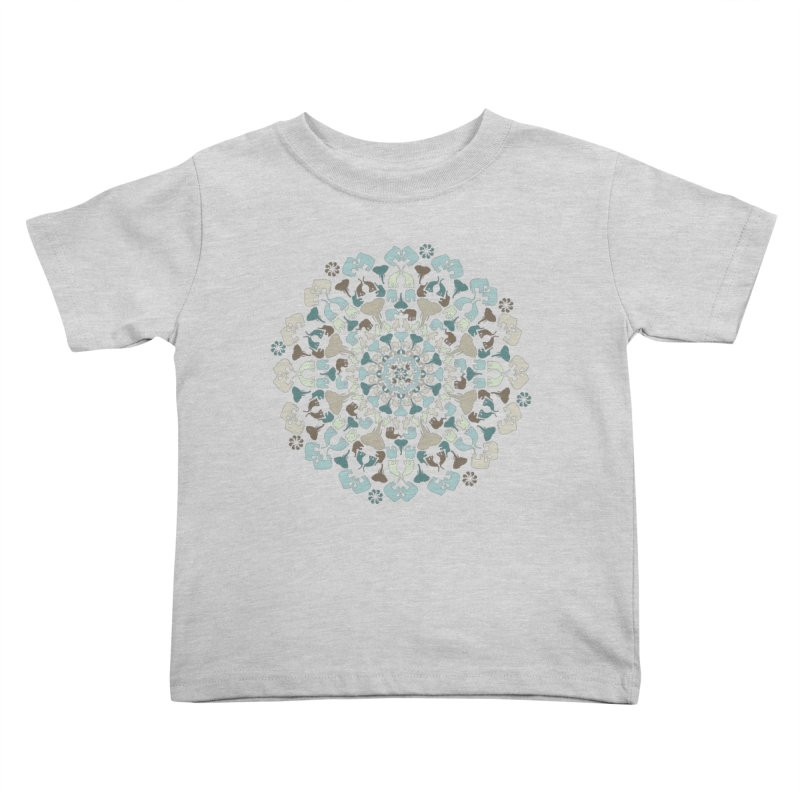 Mandala of Elephants 01. Kids Toddler T-Shirt by BrocoliArtprint