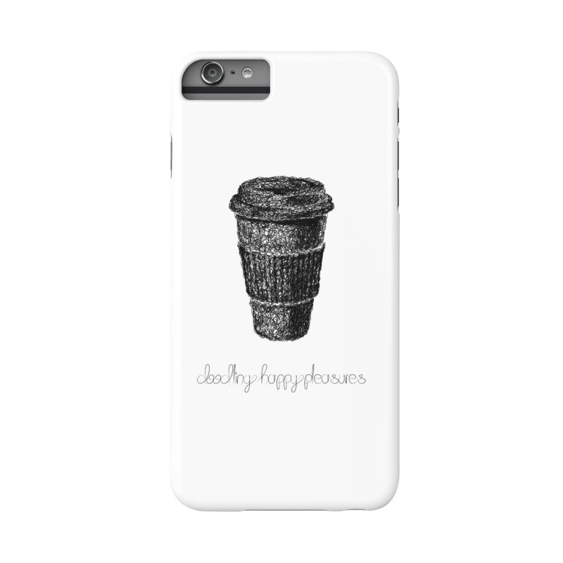 Coffee Doodle Accessories Phone Case by BrocoliArtprint