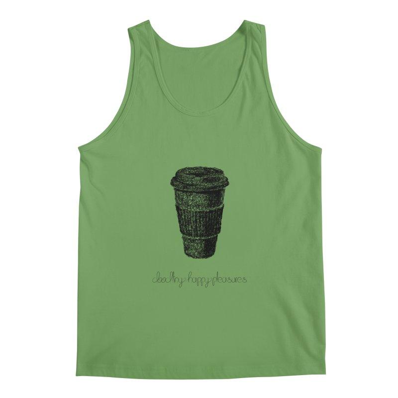 Coffee Doodle Men's Tank by BrocoliArtprint