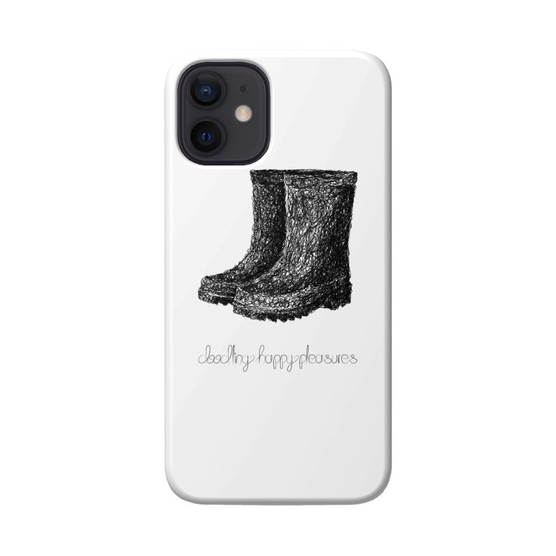Rainboots Doodle Accessories Phone Case by BrocoliArtprint
