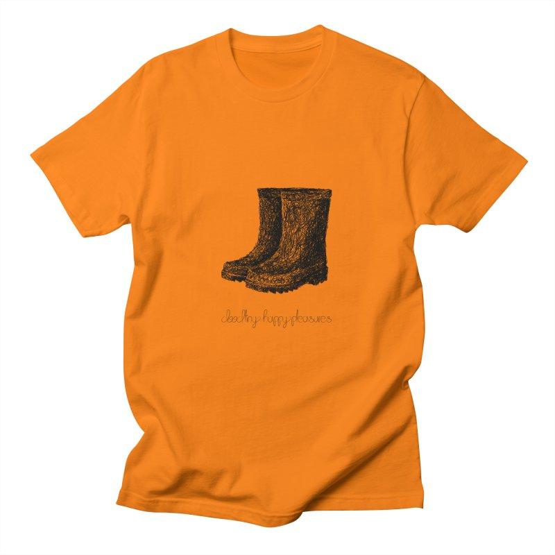 Rainboots Doodle Men's T-Shirt by BrocoliArtprint