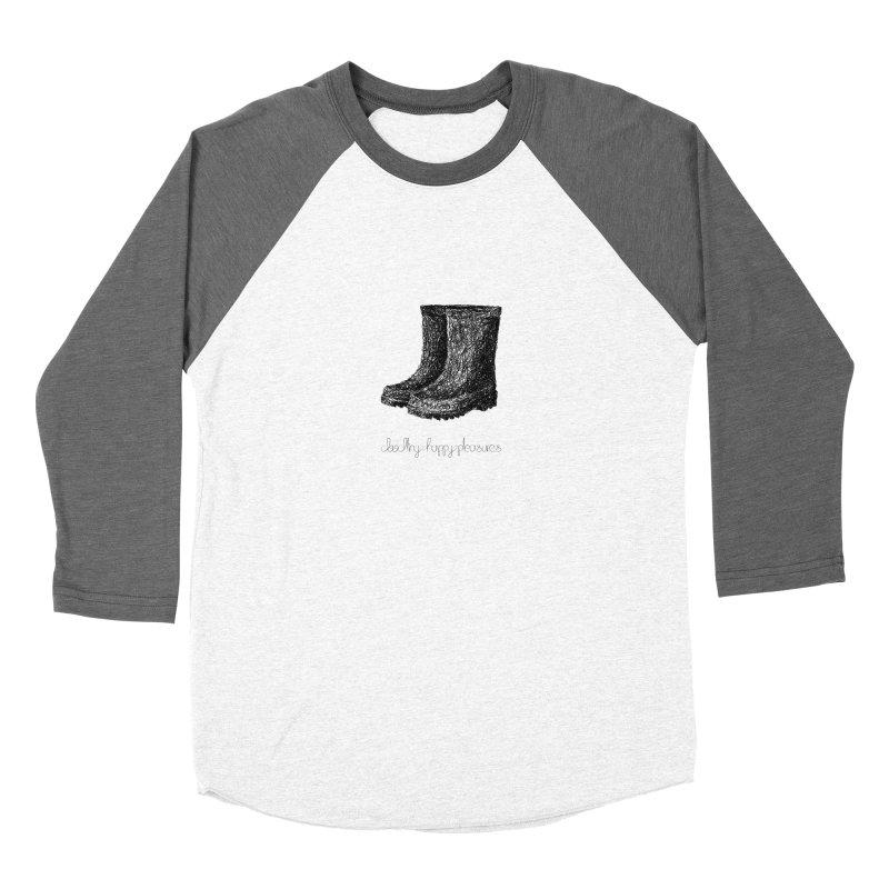 Rainboots Doodle Women's Longsleeve T-Shirt by BrocoliArtprint