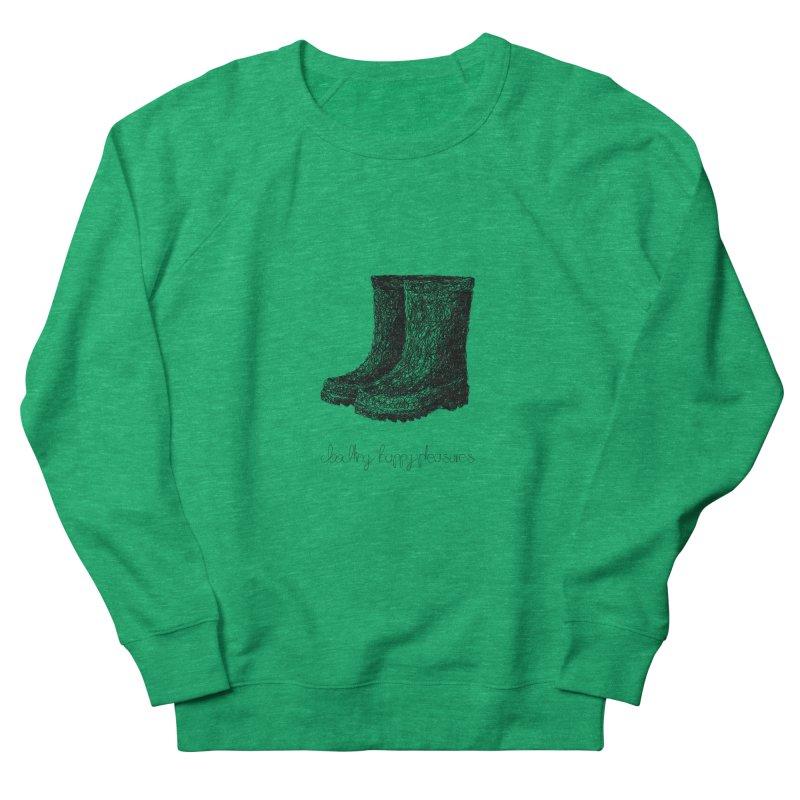 Rainboots Doodle Women's Sweatshirt by BrocoliArtprint