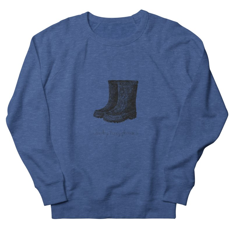 Rainboots Doodle Men's Sweatshirt by BrocoliArtprint