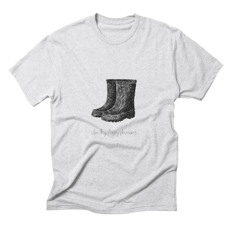Rainboots Doodle Men's T-Shirt by BrocoliArtprint