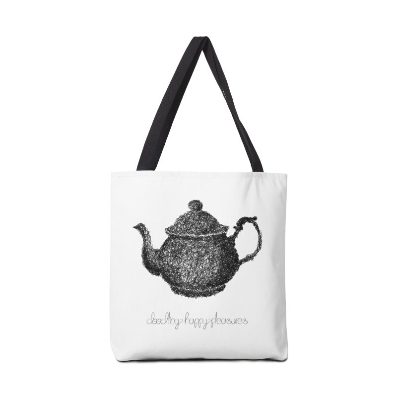 Teapot Doodle Accessories Bag by BrocoliArtprint