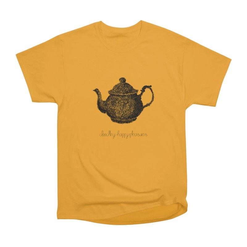 Teapot Doodle Men's T-Shirt by BrocoliArtprint