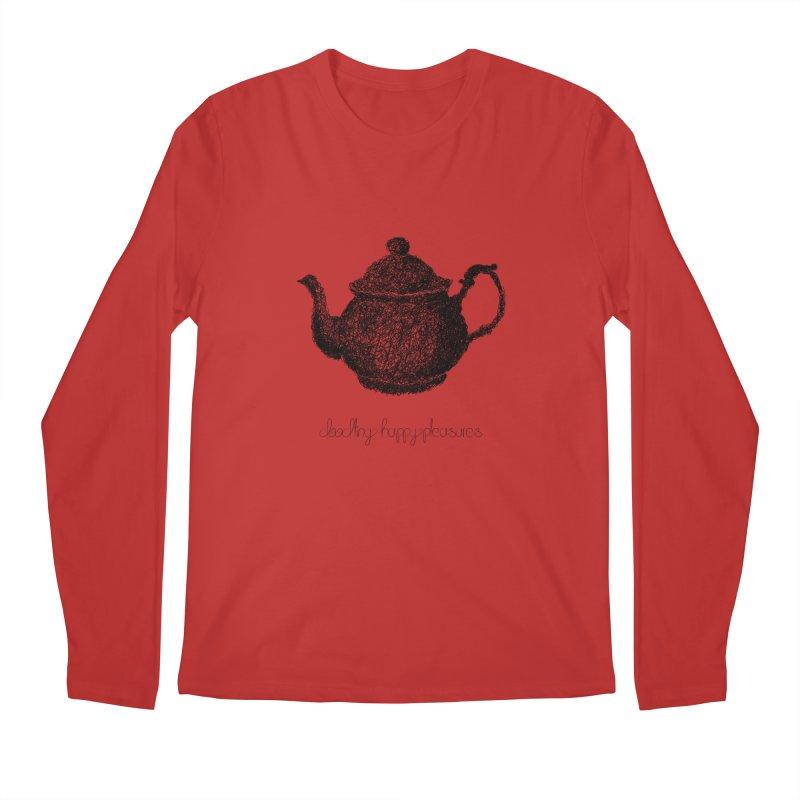 Teapot Doodle Men's Longsleeve T-Shirt by BrocoliArtprint
