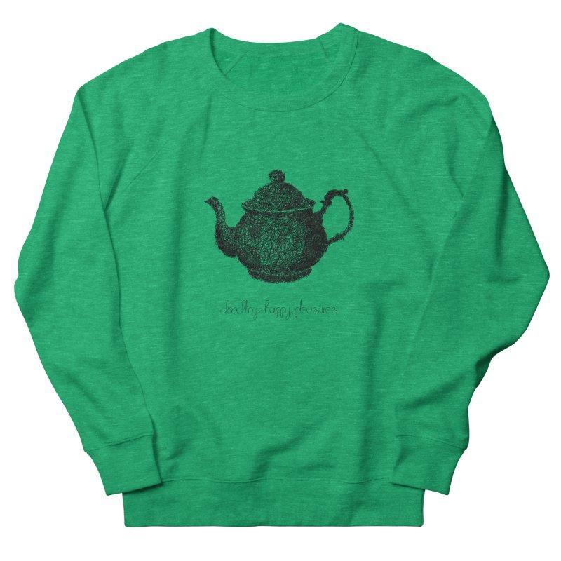 Teapot Doodle Women's Sweatshirt by BrocoliArtprint