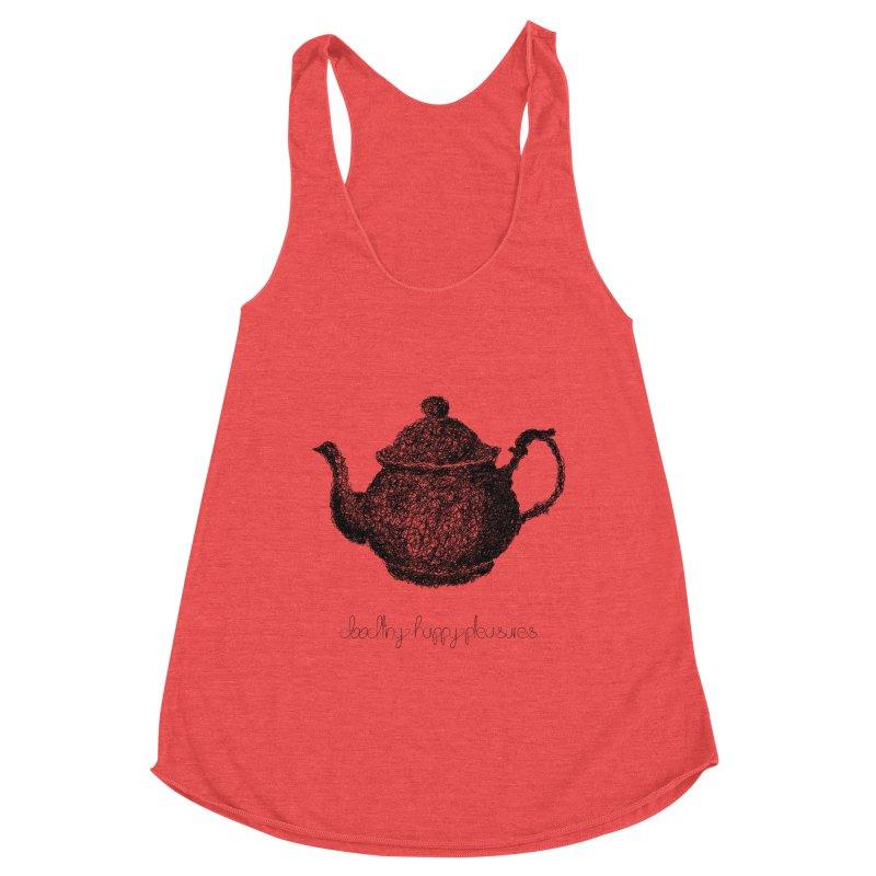 Teapot Doodle Women's Tank by BrocoliArtprint