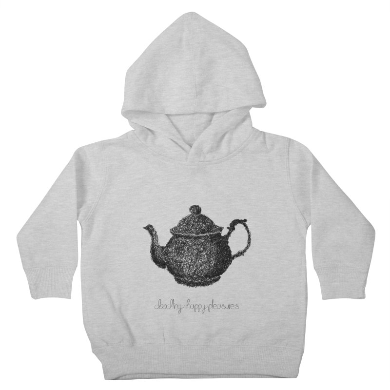 Teapot Doodle Kids Toddler Pullover Hoody by BrocoliArtprint