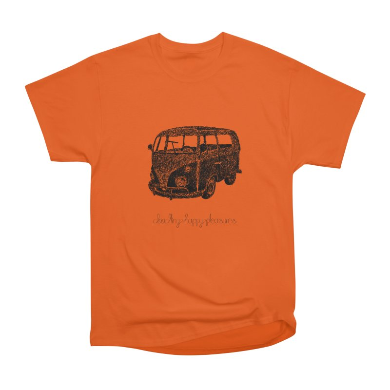 Hippie Retro Van Doodle Men's T-Shirt by BrocoliArtprint