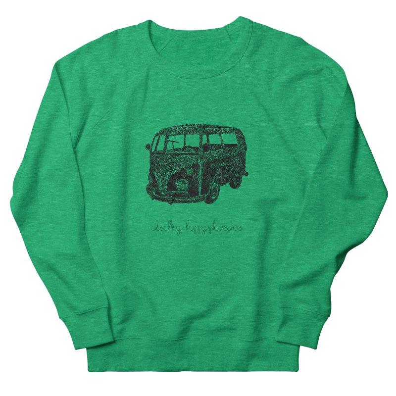 Hippie Retro Van Doodle Women's Sweatshirt by BrocoliArtprint