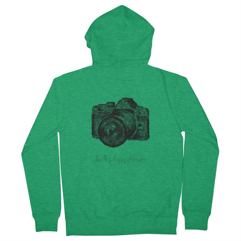 Photo Camera Doodle Men's Zip-Up Hoody by BrocoliArtprint