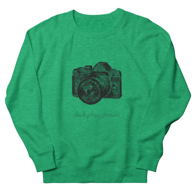 Photo Camera Doodle Women's Sweatshirt by BrocoliArtprint