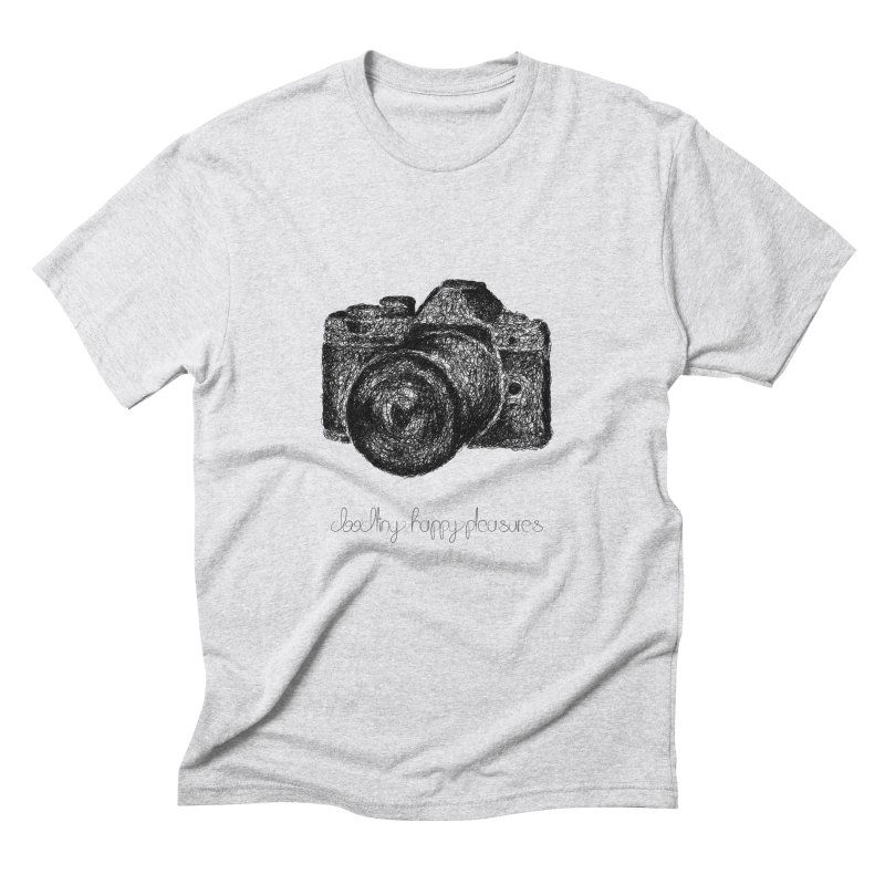 Photo Camera Doodle Men's T-Shirt by BrocoliArtprint