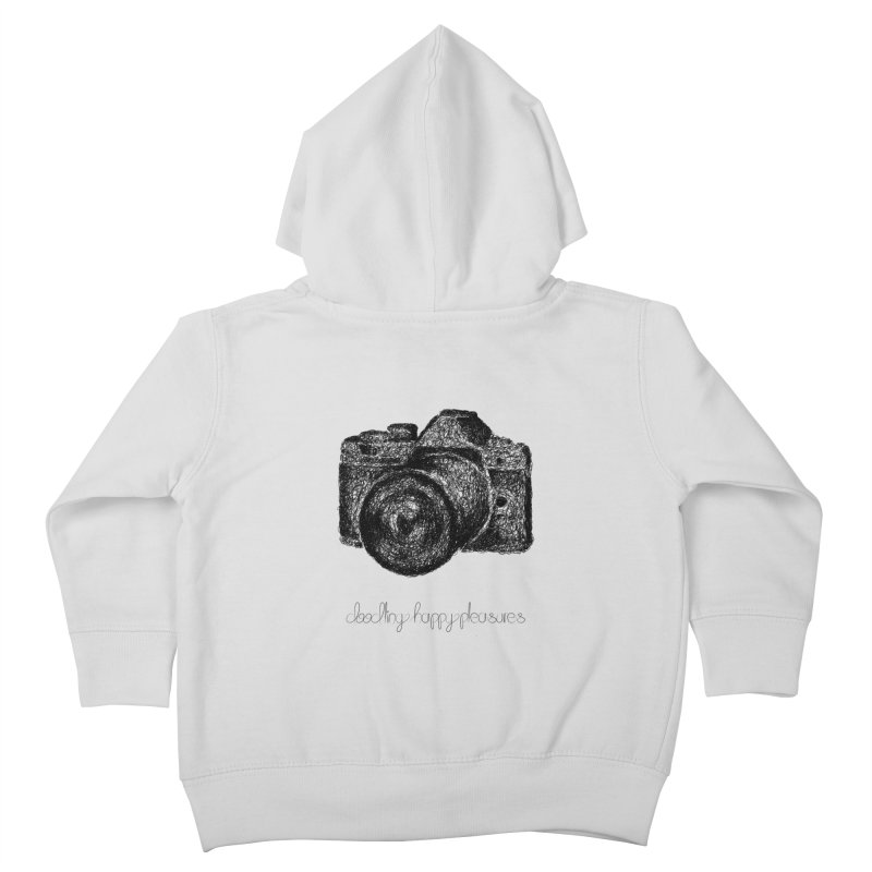 Photo Camera Doodle Kids Toddler Zip-Up Hoody by BrocoliArtprint