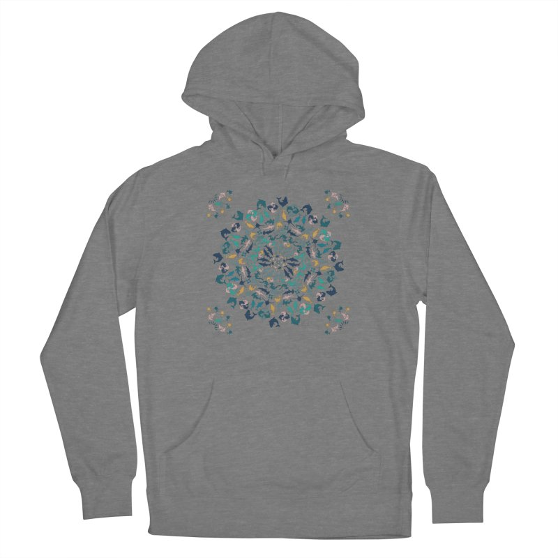 Sharks on Mandala Women's Pullover Hoody by BrocoliArtprint