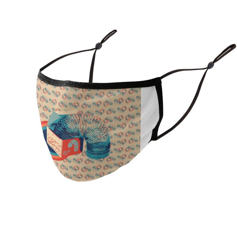 Slinky Accessories Face Mask by BrocoliArtprint
