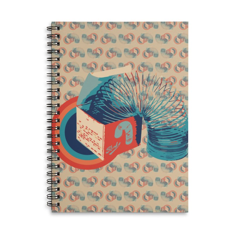 Slinky Accessories Notebook by BrocoliArtprint