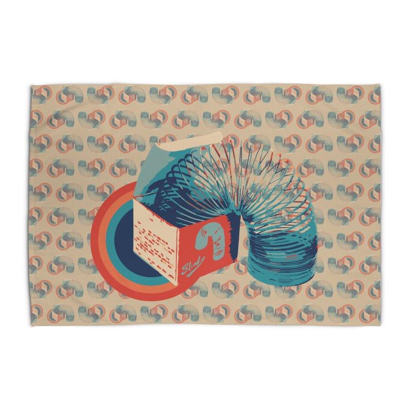 Slinky Home Rug by BrocoliArtprint