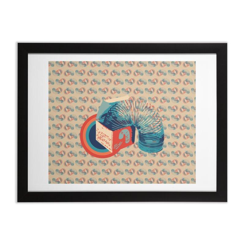 Slinky Home Framed Fine Art Print by BrocoliArtprint