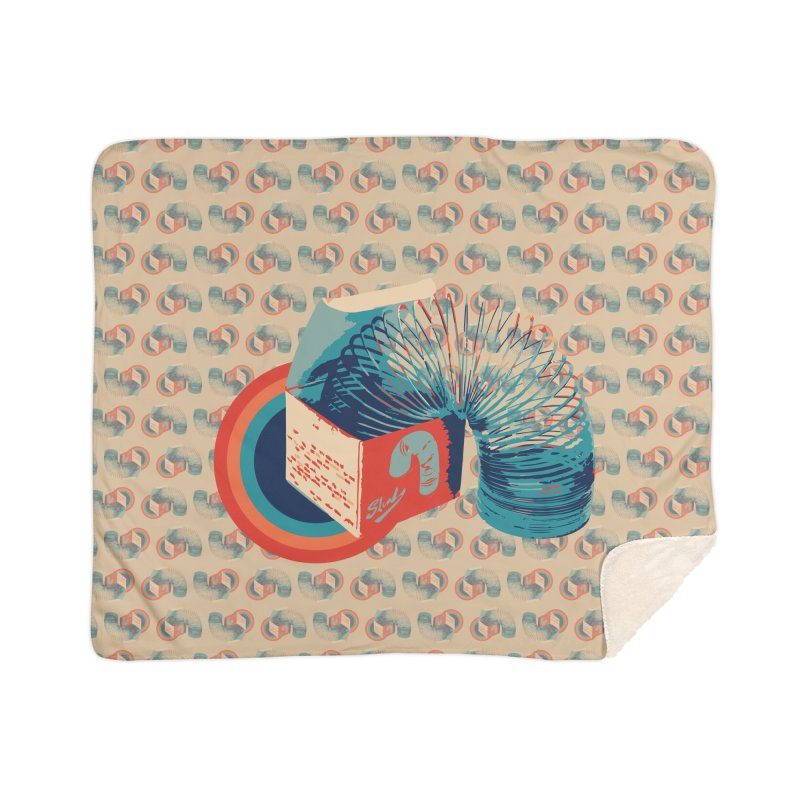 Slinky Home Blanket by BrocoliArtprint