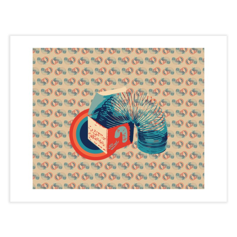 Slinky Home Fine Art Print by BrocoliArtprint