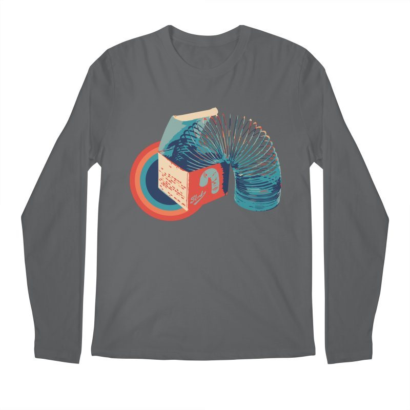 Slinky Men's Longsleeve T-Shirt by BrocoliArtprint