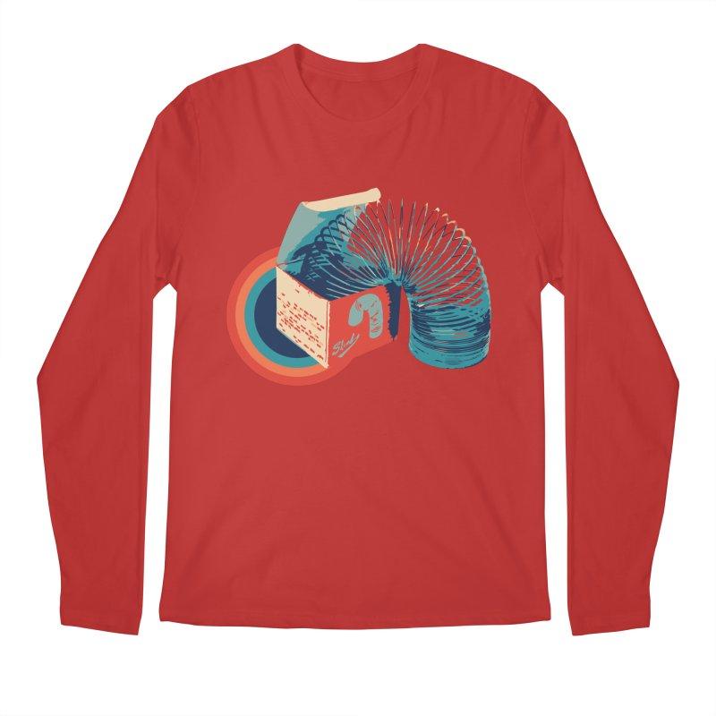 Slinky Men's Longsleeve T-Shirt by BrocoliArtprint