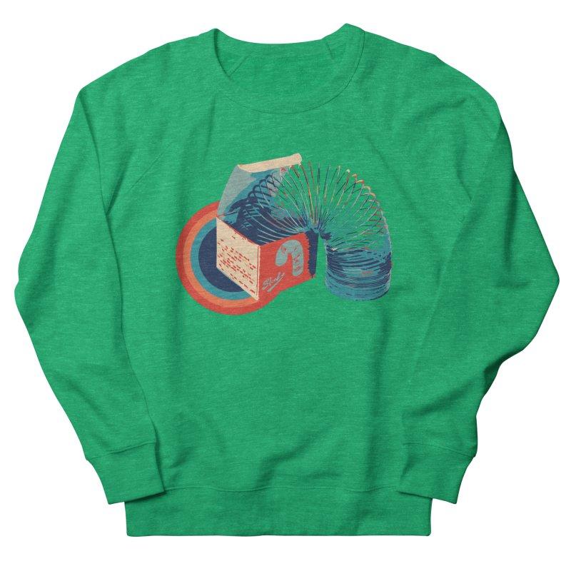 Slinky Women's Sweatshirt by BrocoliArtprint