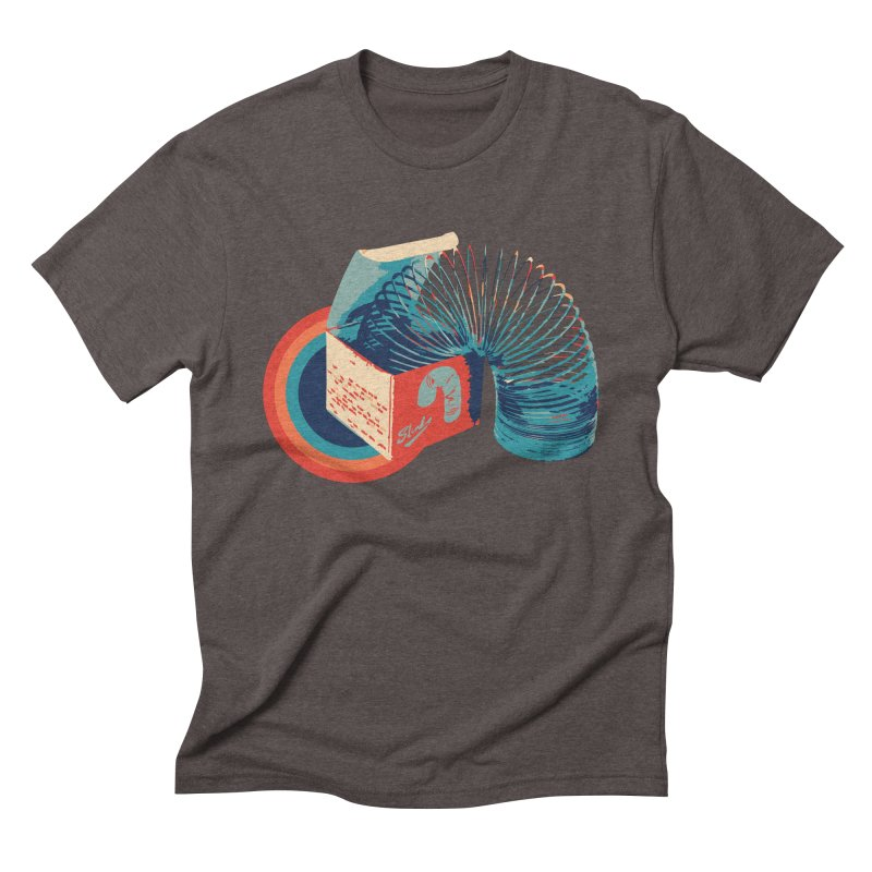 Slinky Men's T-Shirt by BrocoliArtprint