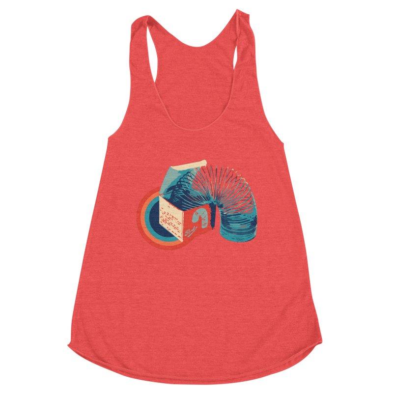 Slinky Women's Tank by BrocoliArtprint