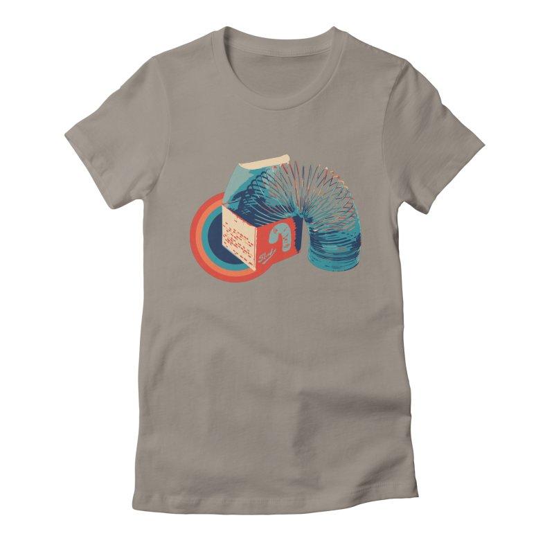 Slinky Women's T-Shirt by BrocoliArtprint