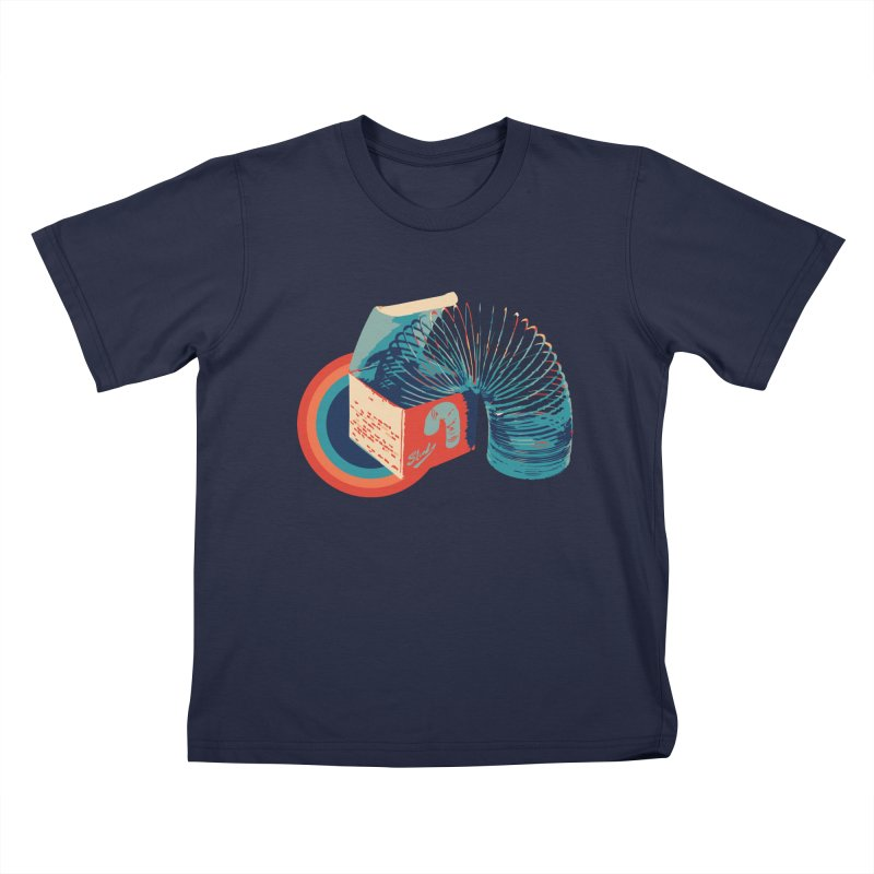 Slinky Kids T-Shirt by BrocoliArtprint
