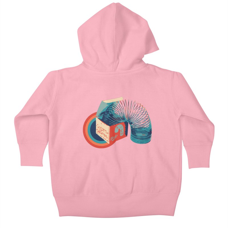 Slinky Kids Baby Zip-Up Hoody by BrocoliArtprint