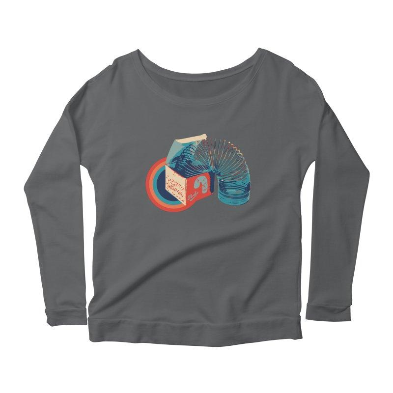 Slinky Women's Longsleeve T-Shirt by BrocoliArtprint