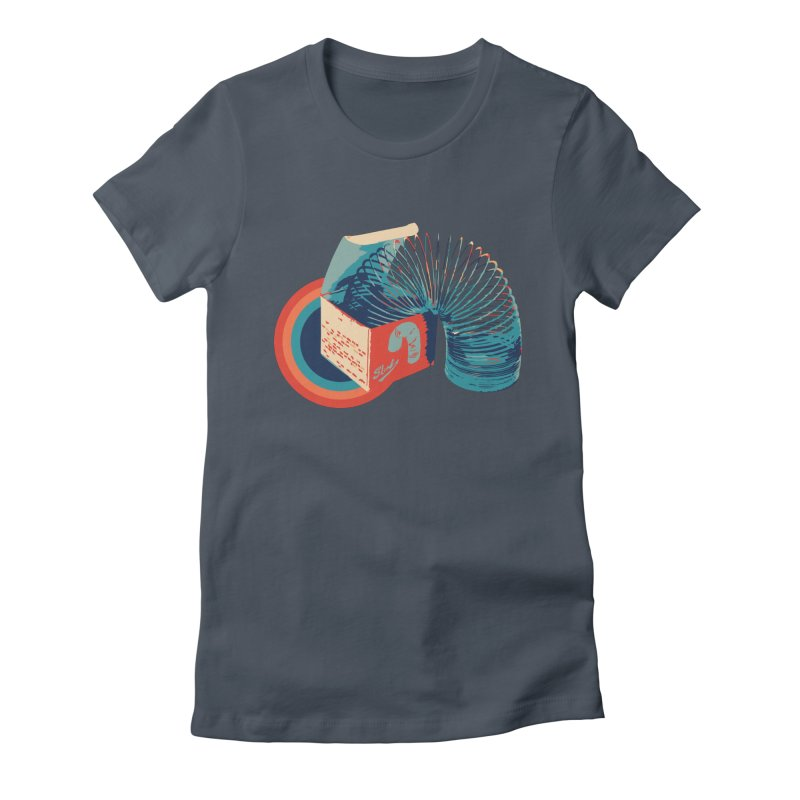 Slinky Women's T-Shirt by BrocoliArtprint