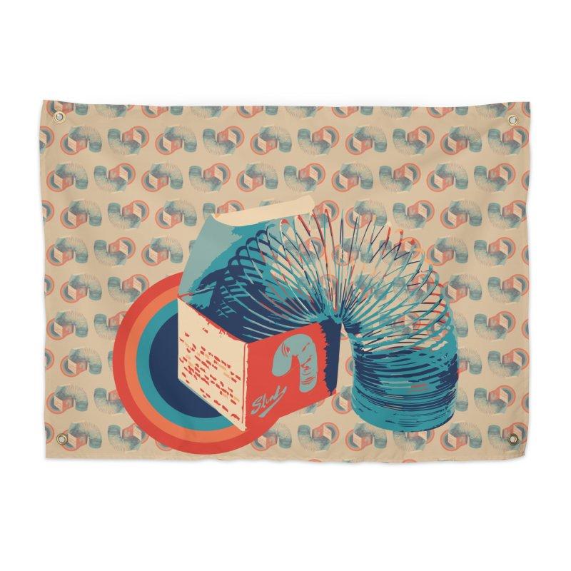 Slinky Home Tapestry by BrocoliArtprint