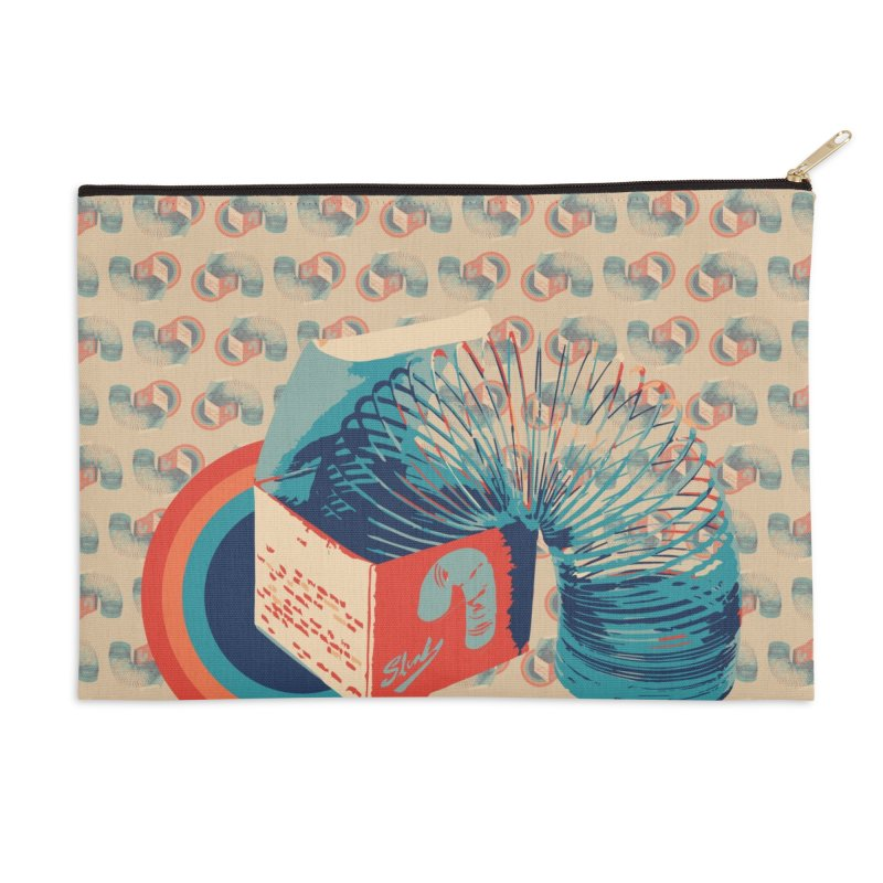 Slinky Accessories Zip Pouch by BrocoliArtprint