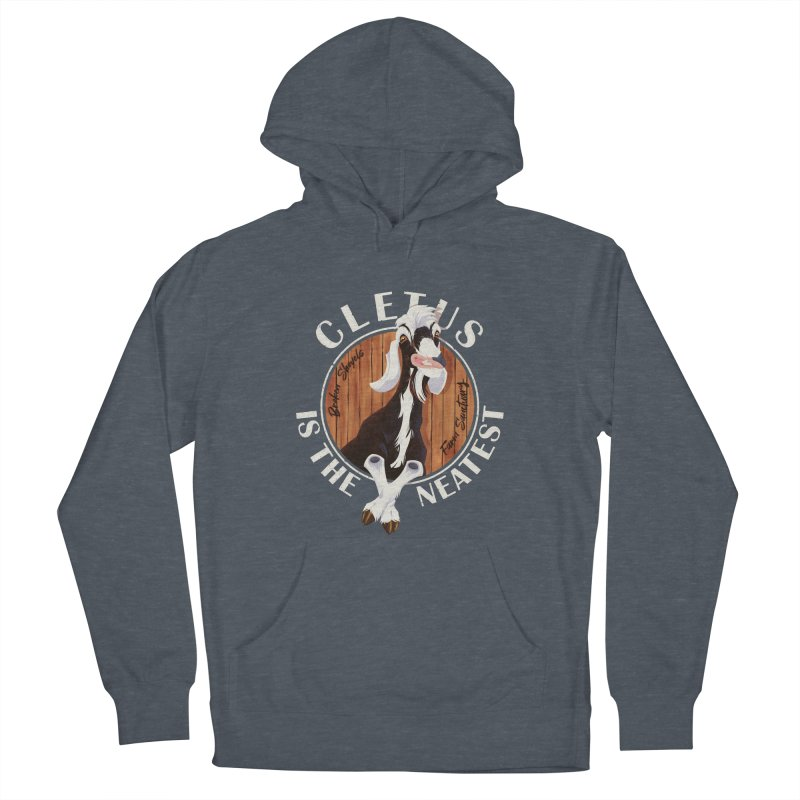 Cletus is the Neatest! Men's Pullover Hoody by Broken Shovels Farm Sanctuary Shop