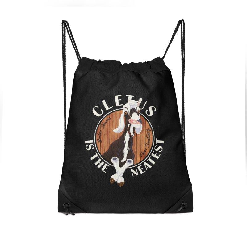Cletus is the Neatest! Accessories Bag by Broken Shovels Farm Sanctuary Shop