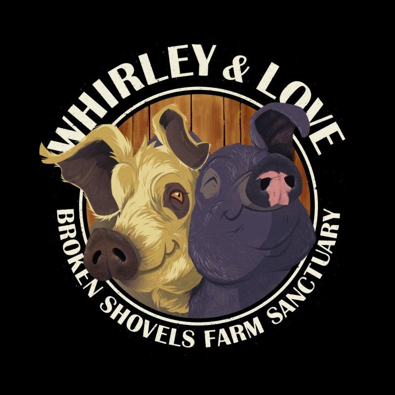 Love & Whirley Accessories Sticker by Broken Shovels Farm Sanctuary Shop