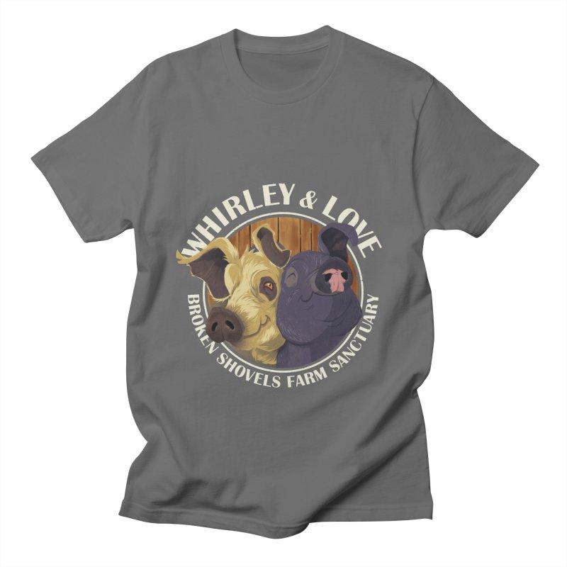 Love & Whirley Men's T-Shirt by Broken Shovels Farm Sanctuary Shop